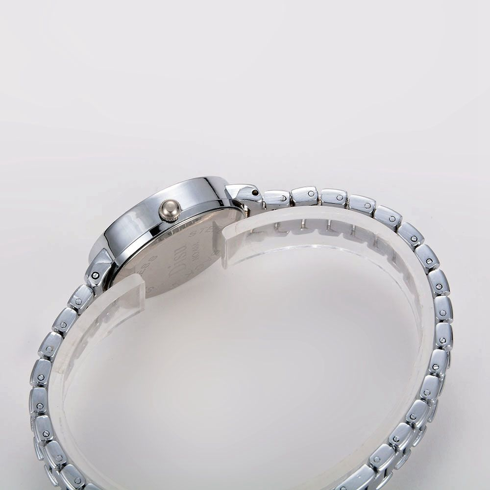 Disu Fashion Ladies Dress Quartz Alloy Bracelet Wrist Rose Gold Watch