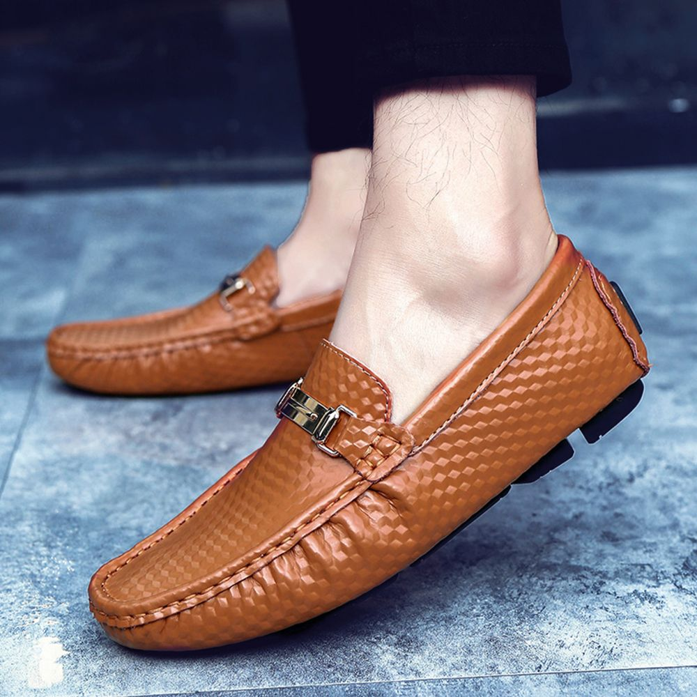 Vintage Land Rover Mens Loafer Driving Moccasin Brown: 2018 Men'S Shoes Casual Loafers Comfortable Slip-Ons