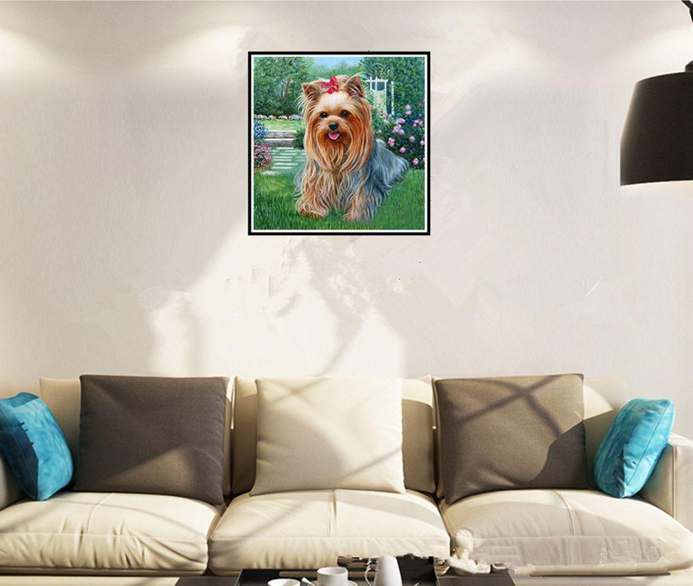Naiyue 9438 The Puppy Print Draw Diamond Drawing