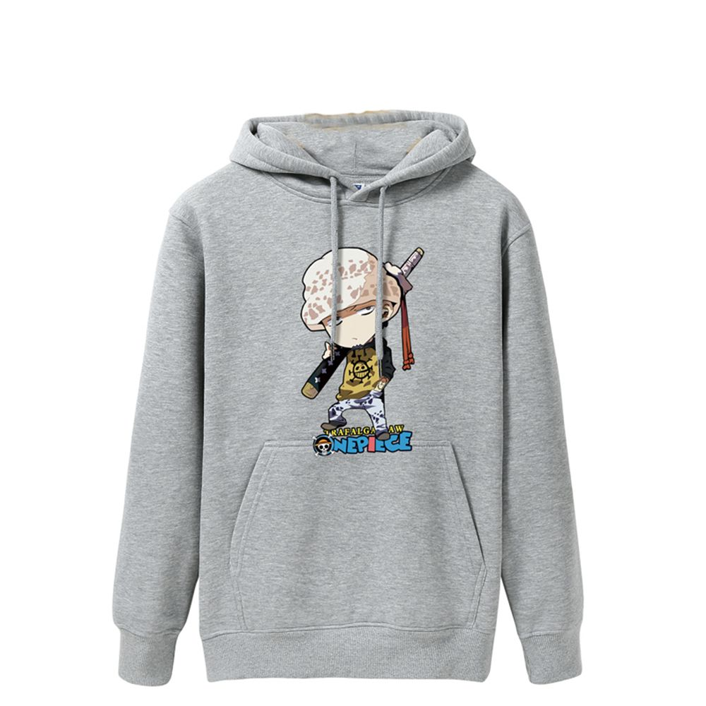 2017 Men's Fashion Cartoon Fleece Hoodie