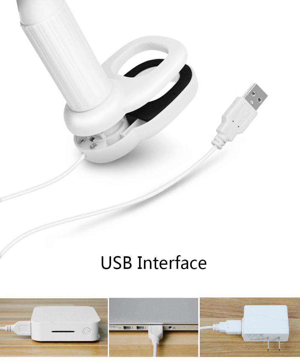 BRELONG LED Desk clip lamp Bedside table lamp