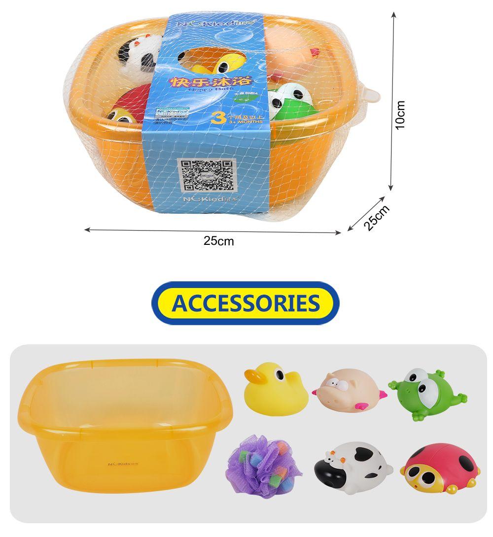 Baby Toy Baby Bathtub And Animal Model Toys Set