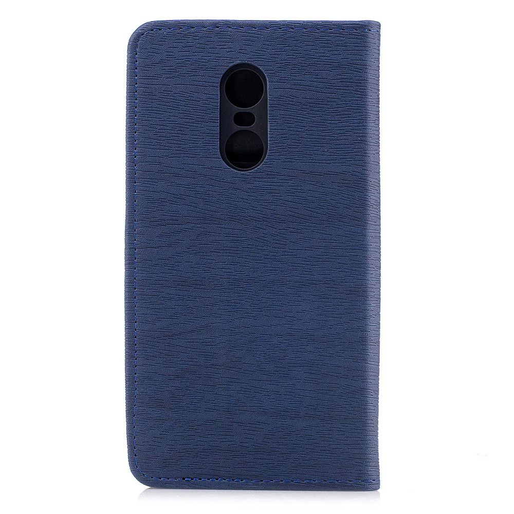 Cover Case for Xiaomi Redmi Note 4X Card Holder with Stand Flip Full Body Lines / Waves Hard PU Leather