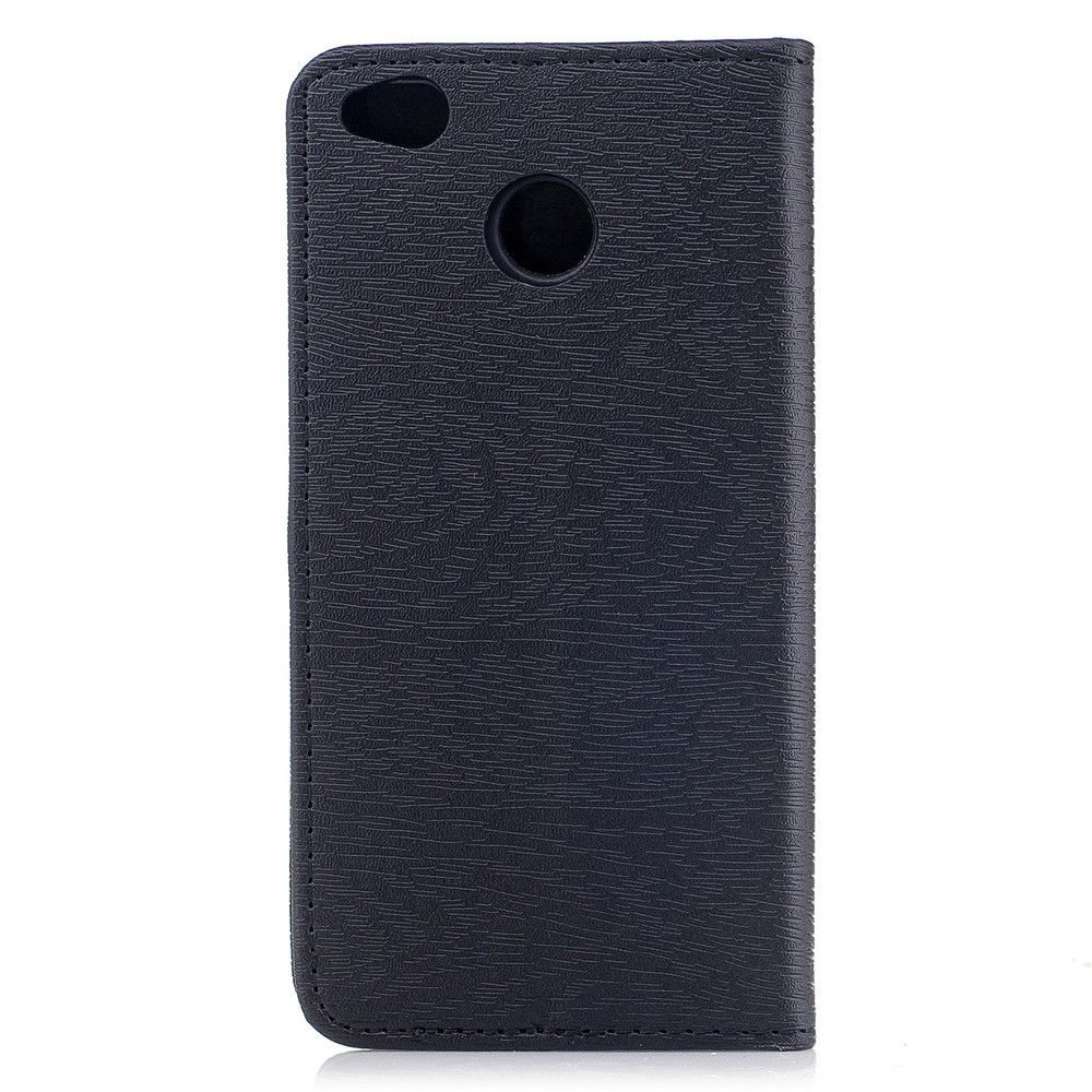 Cover Case for Xiaomi Redmi 4X Card Holder with Stand Flip Full Body Lines / Waves Hard PU Leather