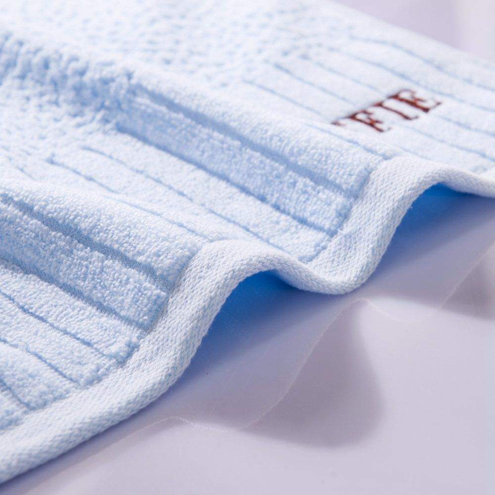 Pure Cotton Jacquard and Embroidery With Super Soft Suction Face Towel
