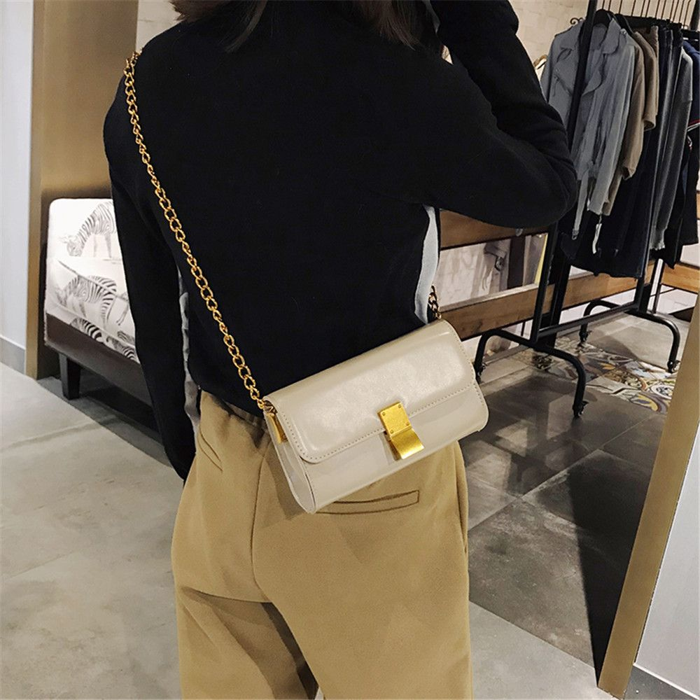 Fashion Messenger Female Mini Chain Small Square Package