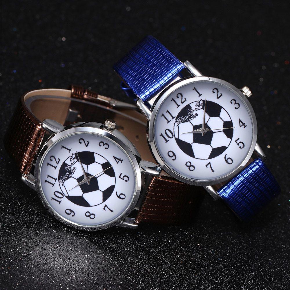 ZhouLianFa New Outdoor Fashion High-End Rose Gold Watch Crocodile Pattern Football Digital Quartz Watch