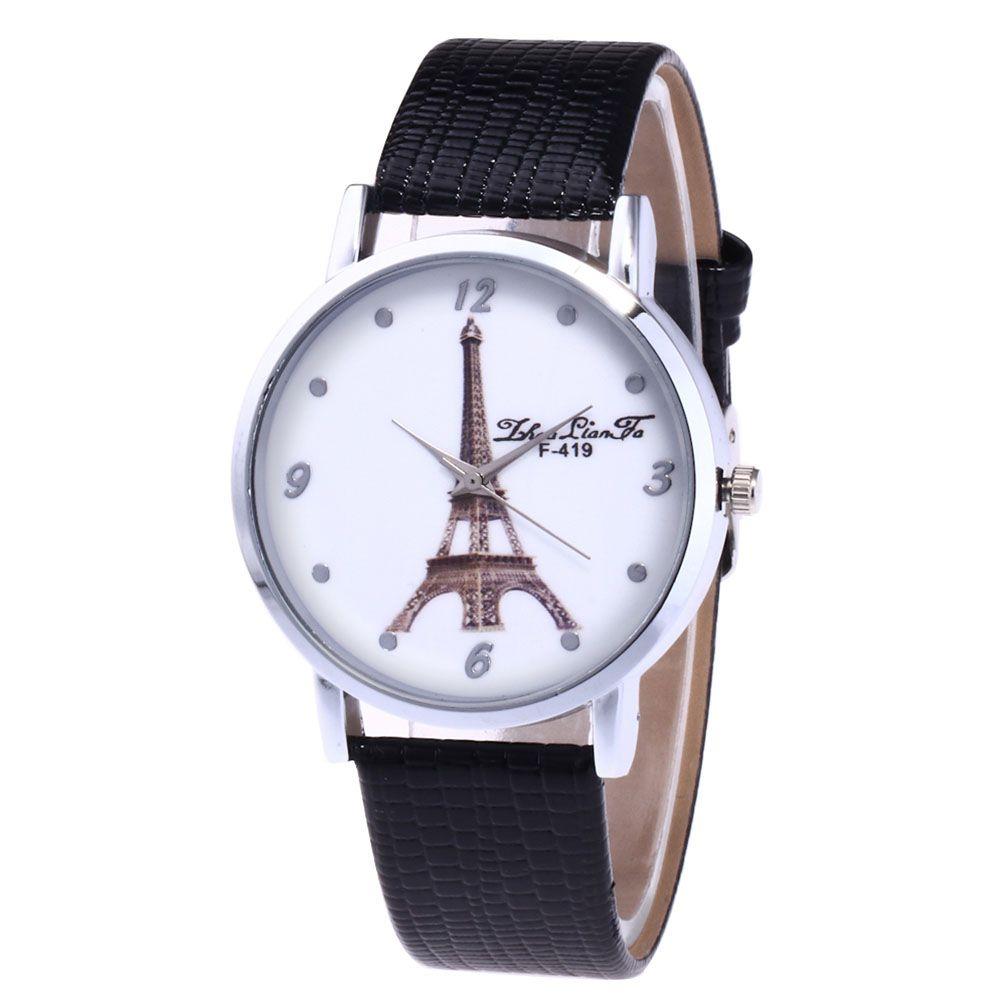 ZhouLianFa The New Brand of Luxury Crocodile Pattern Watch Tower Ladies Watch