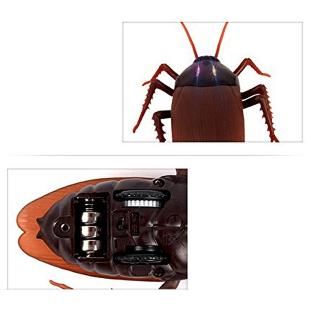 LeadingStar Funny Toy Kids Toys Creative Simulation Infrared Remote Control Cockroach The Entire Toy zk30