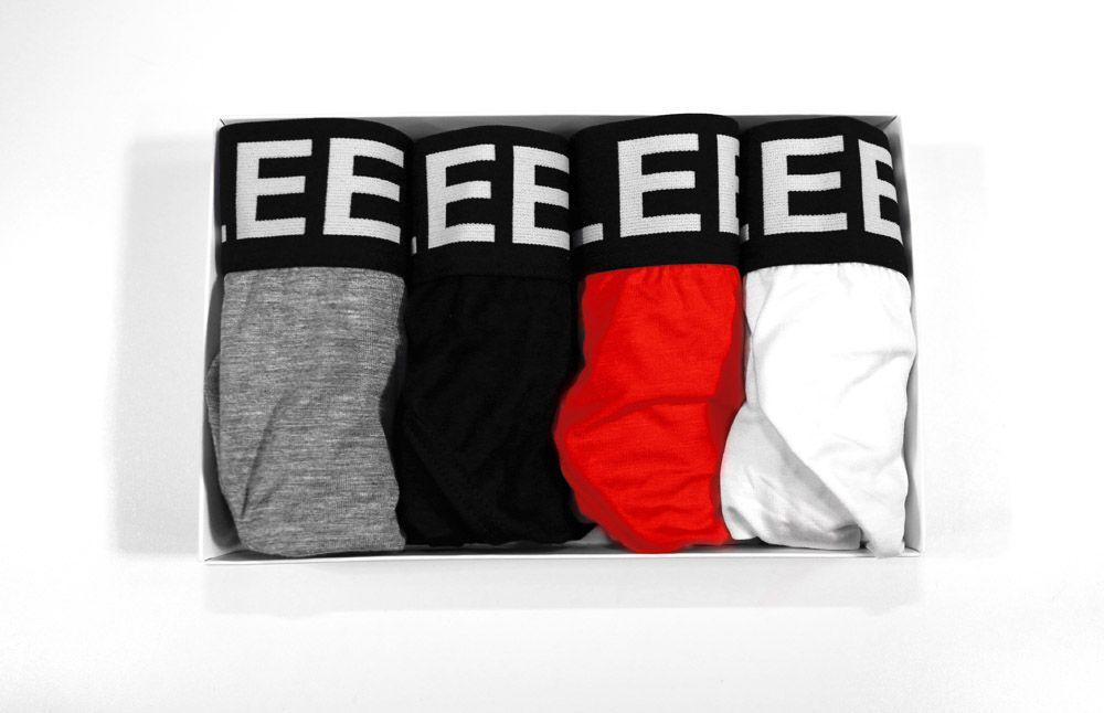 Taddlee 4pcs Men's Briefs Low Rise Underwear