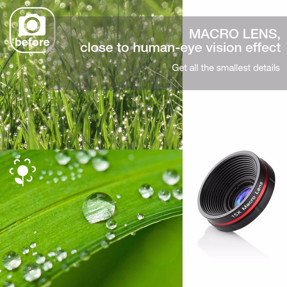 Siroflo 3 in 1 Cell Phone Camera Lens Kit