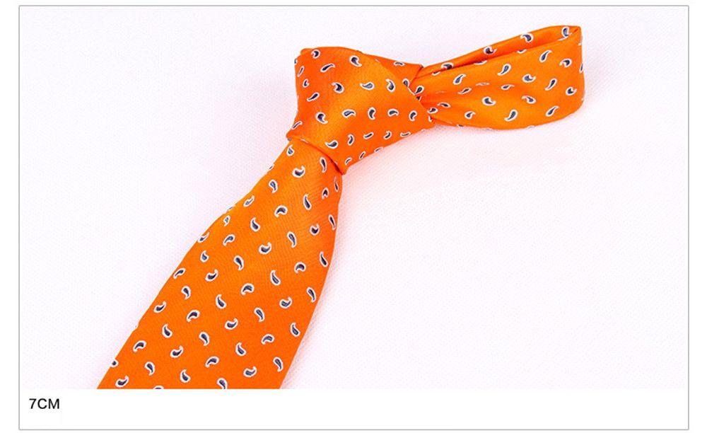 Real Silk Man Jacinth Mulberry Silk Necktie