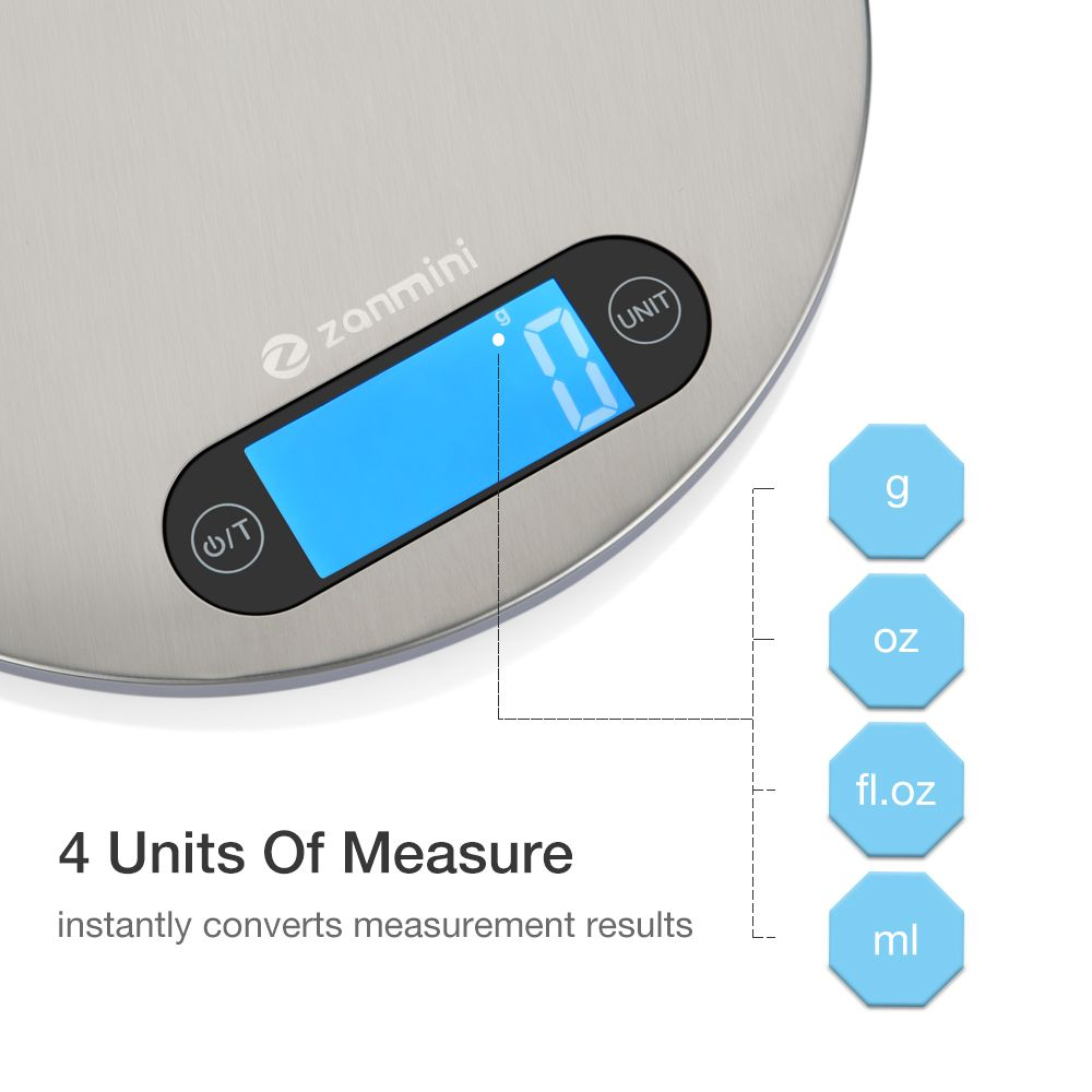 zanmini Digital Kitchen Scale