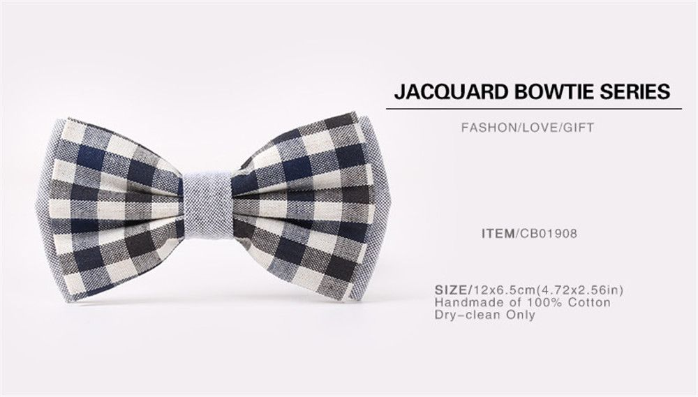 Casual Tie for Men'S Lattices