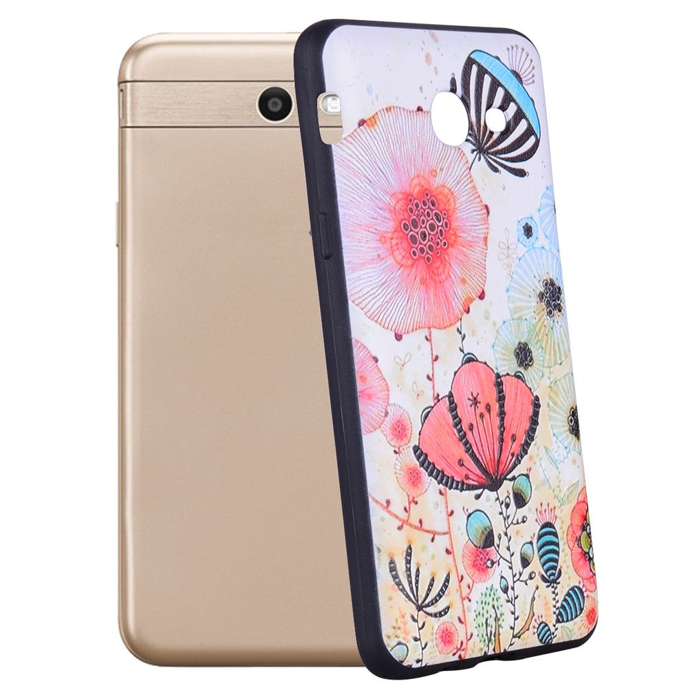 Case For Samsung Galaxy J5 2017 J520 Beauty Powder TPU Phone Case
