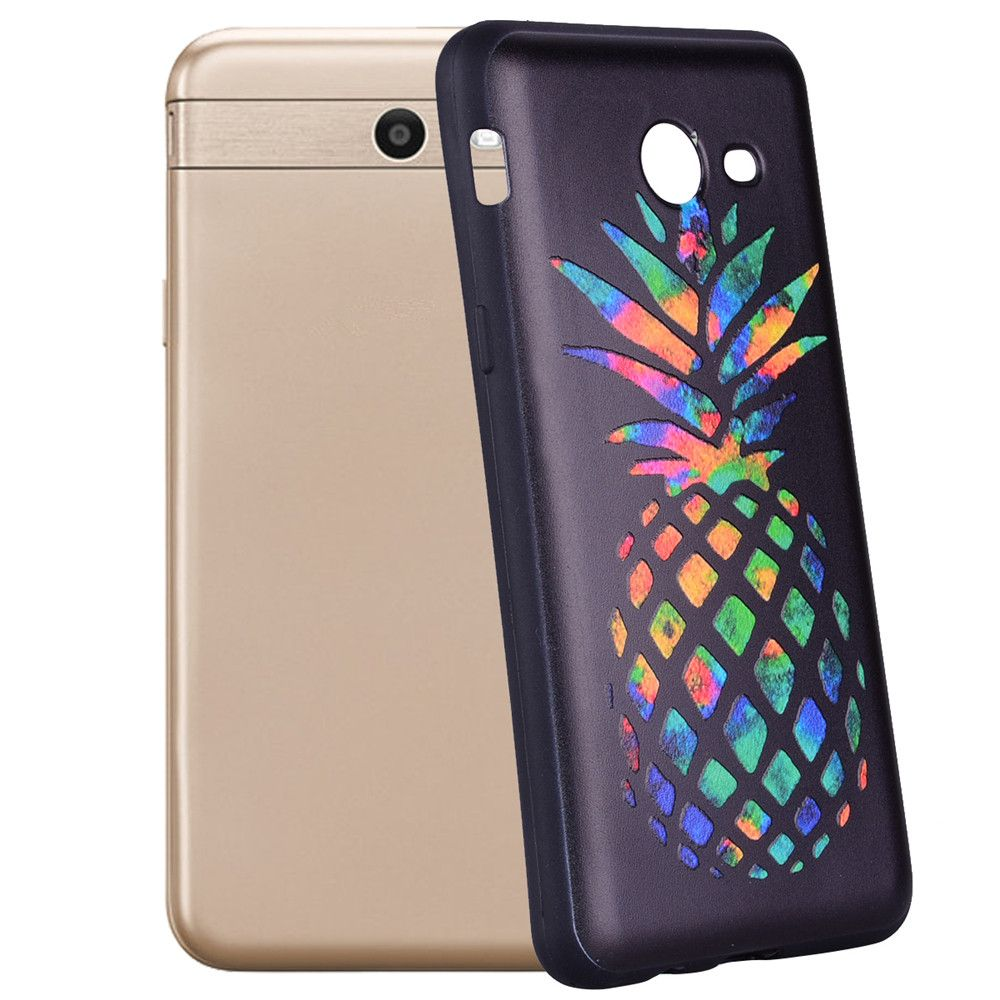 Case For Samsung Galaxy J5 2017 J520 U.S. color Pineapple TPU Phone Case