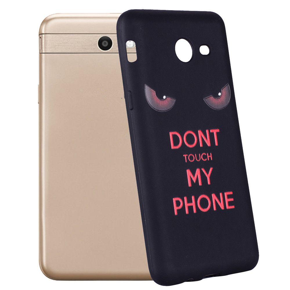 Case For Samsung Galaxy J5 2017 J520 U.S.  Red Eye TPU Phone Case