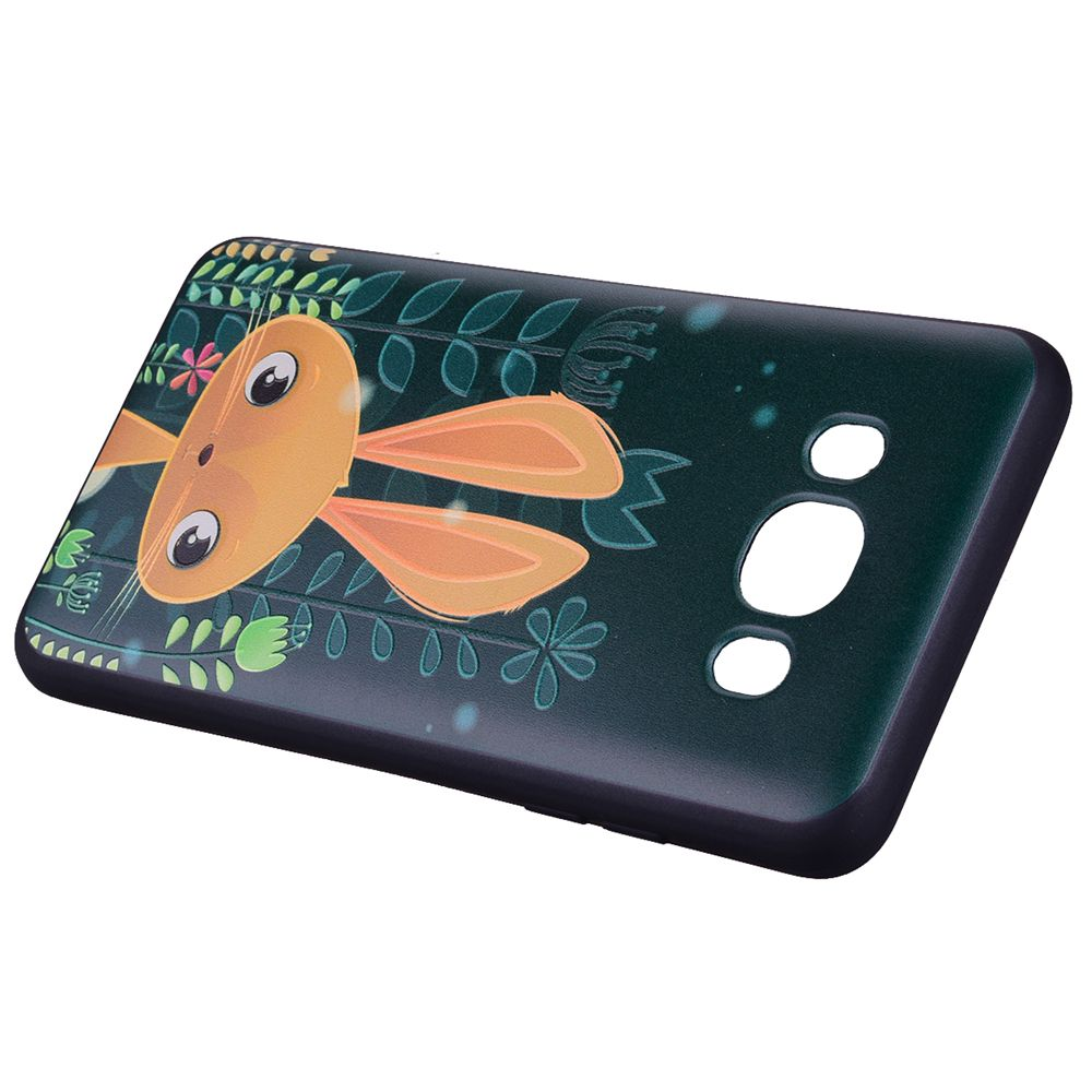 Case For Samsung Galaxy J510 Cute Rabbit TPU Phone Case
