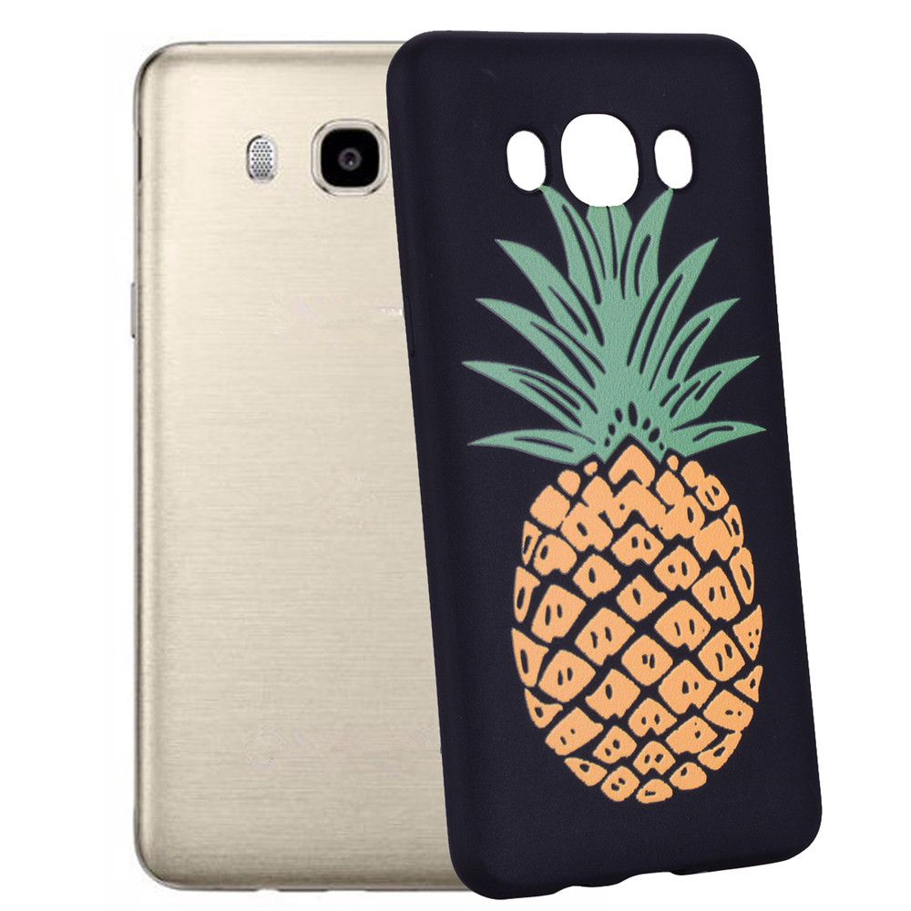 Case For Samsung Galaxy J5 2016 J510 Pineapple TPU Mobile Phone Protection Shell