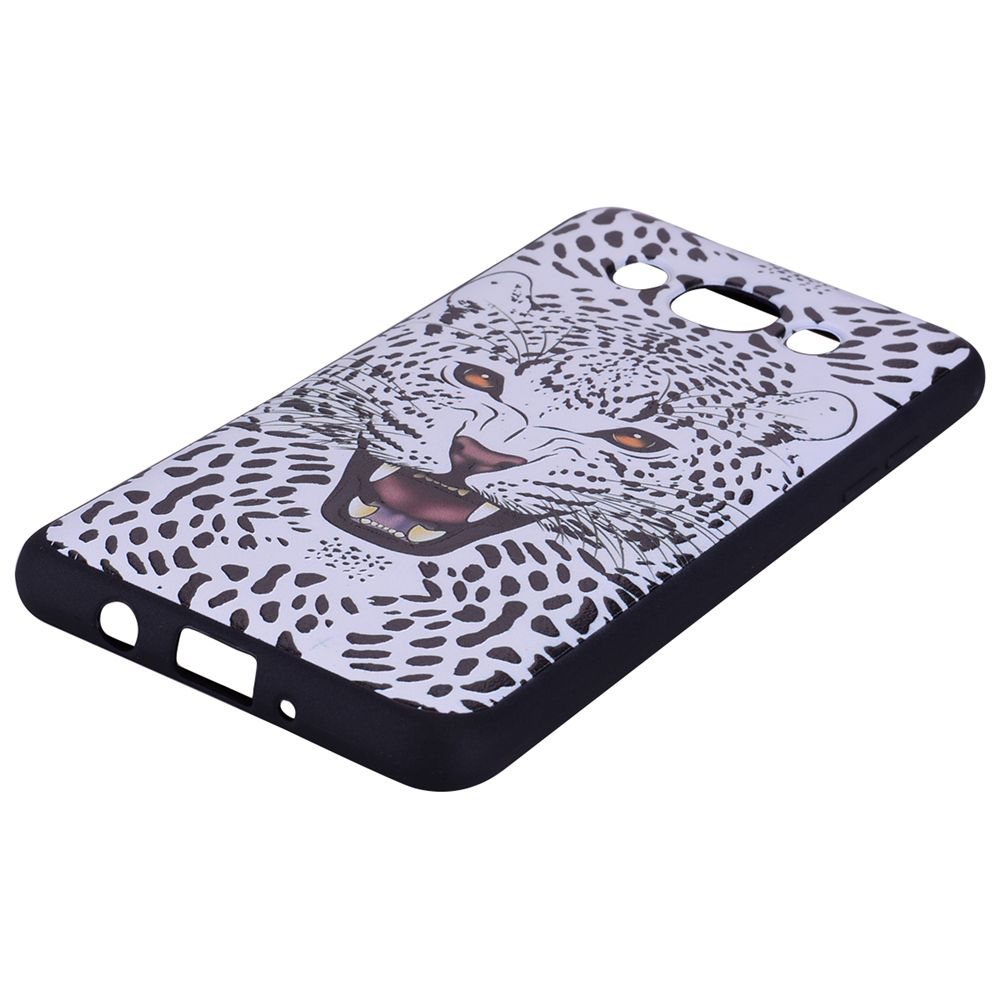 Case For Samsung Galaxy J5 2016 J510 Snow Leopard TPU Mobile Phone Protection Shell
