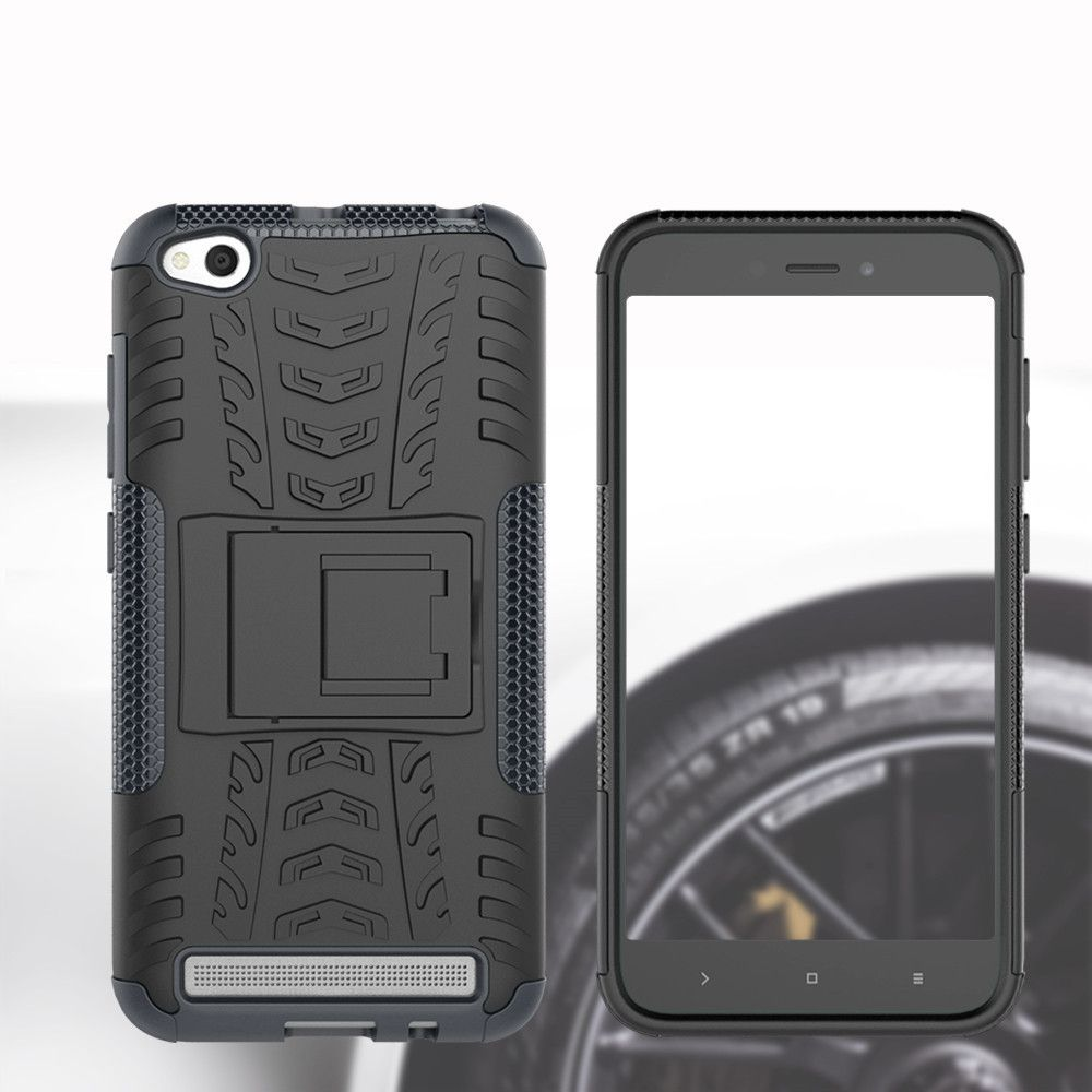 Cover Case for Redmi 5A Shock Proof And Antiskid TPU + PC Material Cool Tattoos Stents