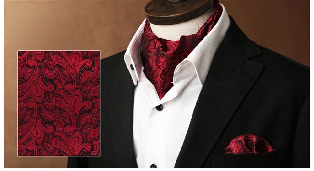 Double-Edged Men'S Retro Suit Shirt Neckline Towel