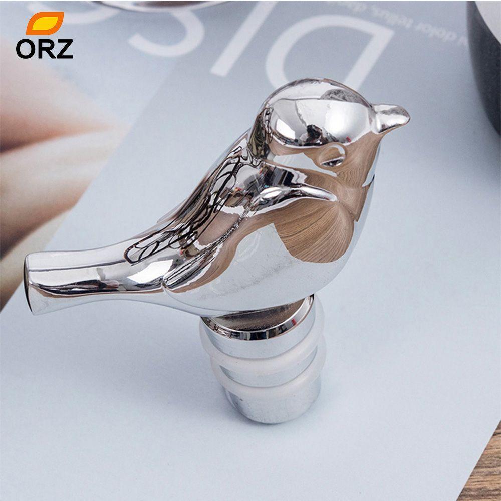Zinc alloy Wine Stopper Bird-animal Shape Whisky Bottle Stopper Airtight Seal
