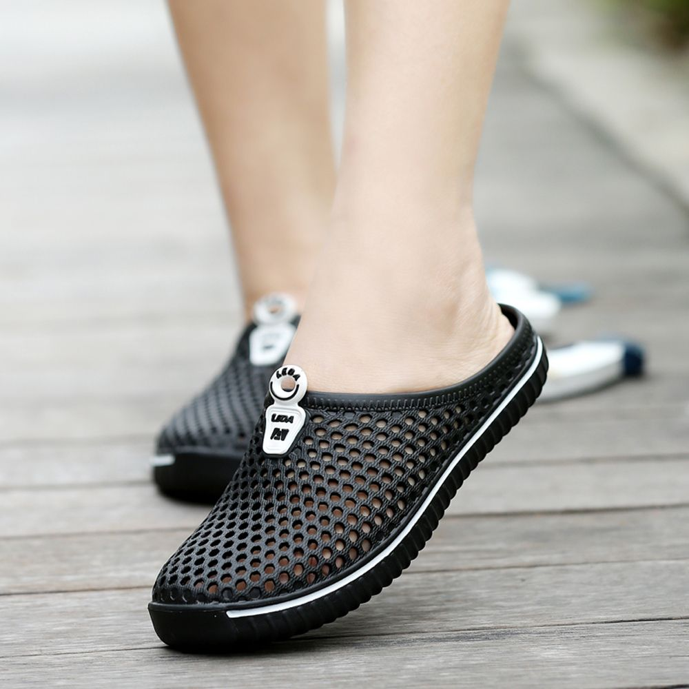 Slippers Beach Shoes Hollow Out Breathable Couples