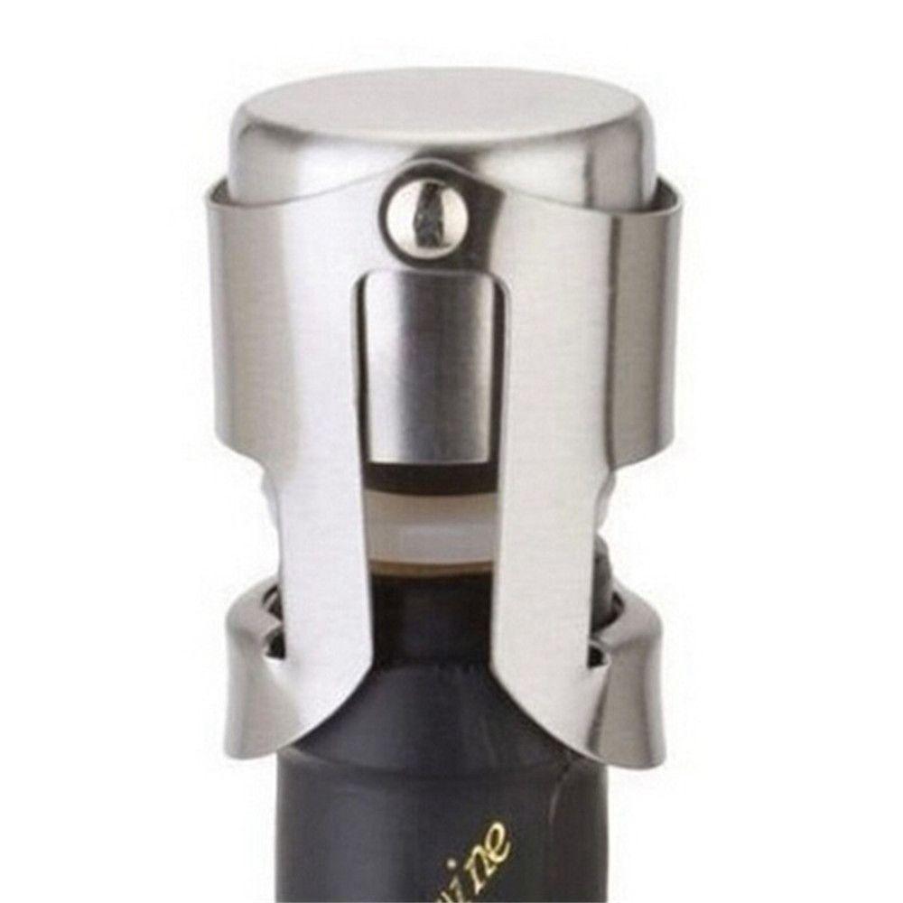 Stainless Steel Red Wine Bottle Stopper Champagne Plug Non-Slip Mold Champagne Stopper