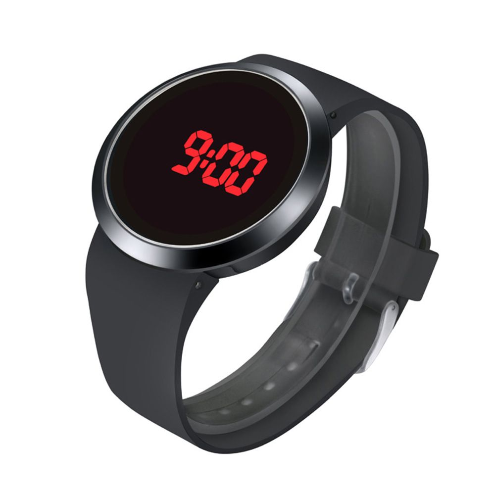 LED touch watch faiones brand watches men's sports sports watch digital watch case rubber band watches Electronic watche