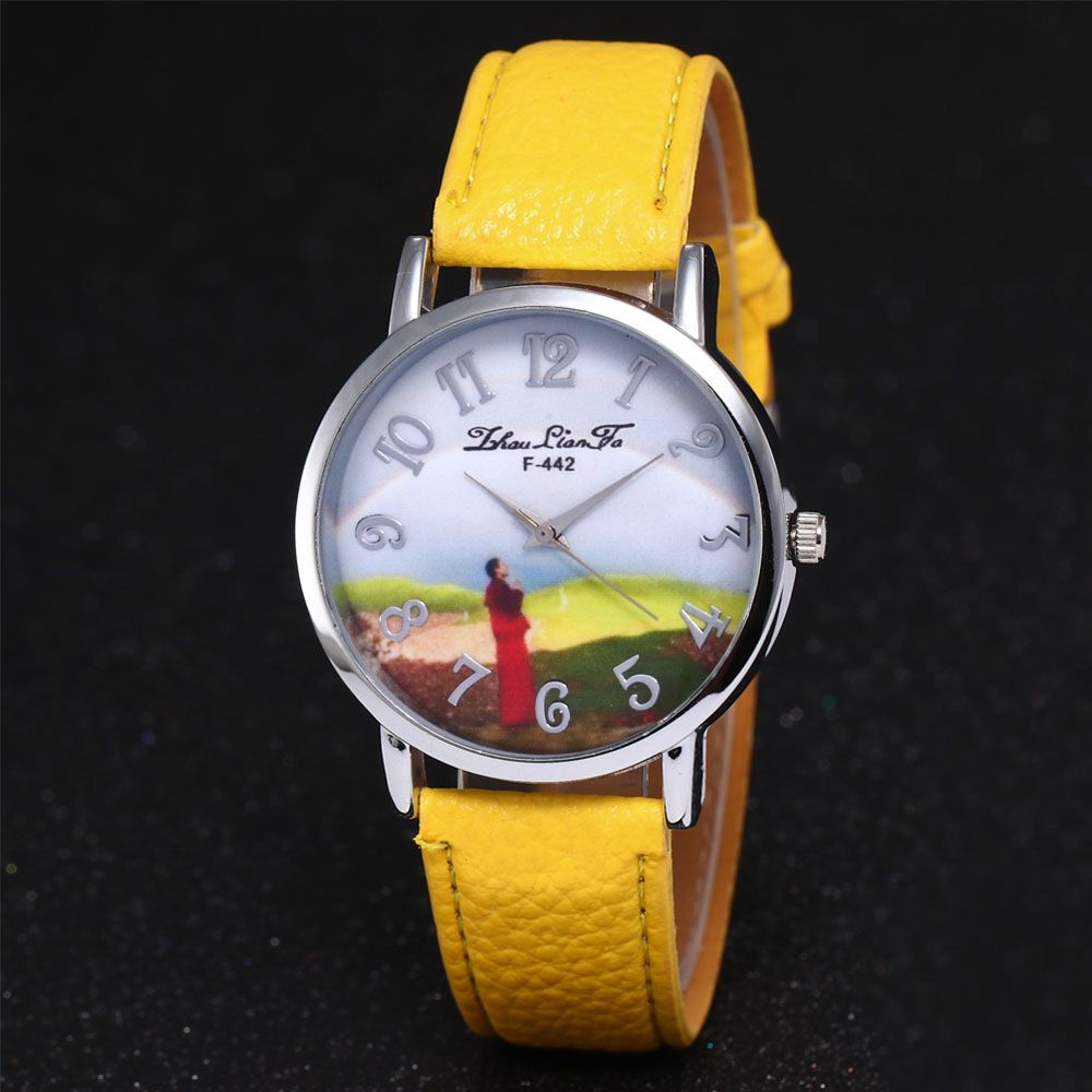 ZhouLianFa New Outdoor High-End Silver Dial Lychee Monk Quartz Watch