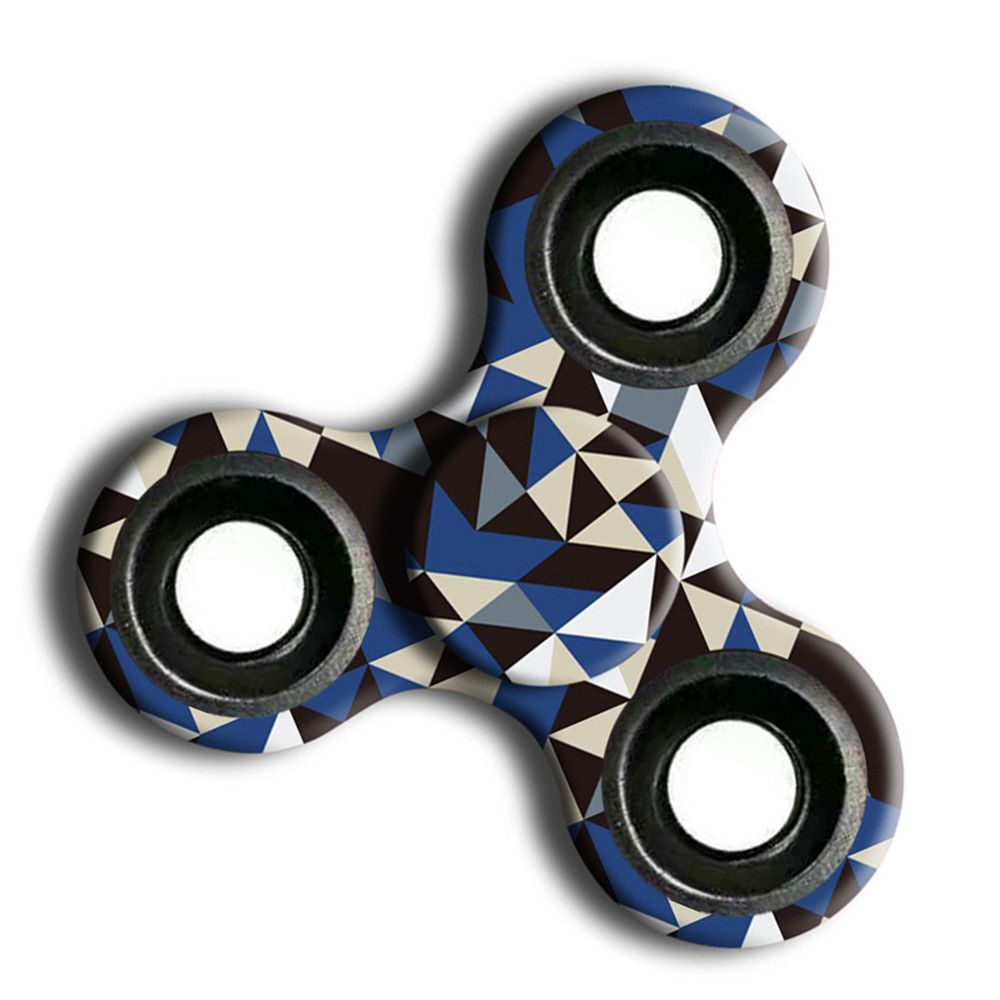 Interesting Stress Relief Toy Camouflage Finger Spinner