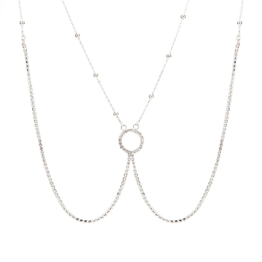 Europe and the United States fashion new diamond sexy body chain