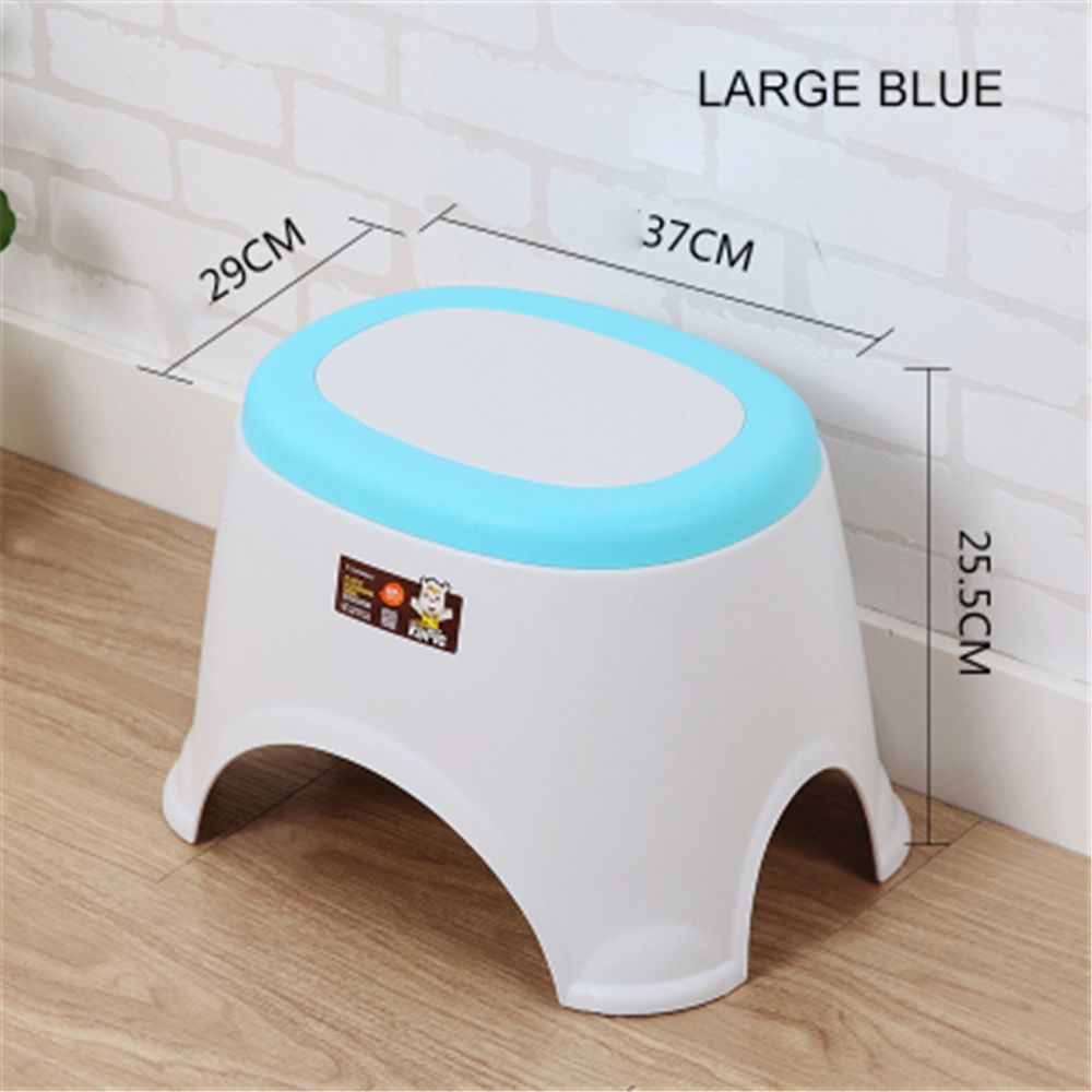 The Bathroom on The Bench Plastic  Receive A Stool Baby Footstool Leisure  Tables and Chairs 2pcs