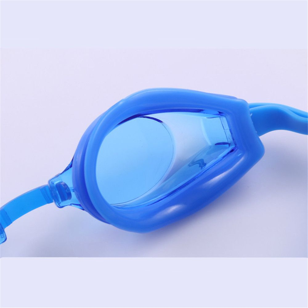 Swimming Goggles Mirror Coated Lenses Anti Fog Shatterproof UV Protection Swimming Glasses