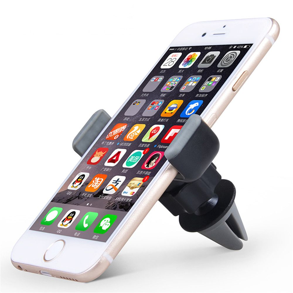 360 Rotation ABS Phone Holder Stand for Mobile Smartphones Mount Car Air Vent