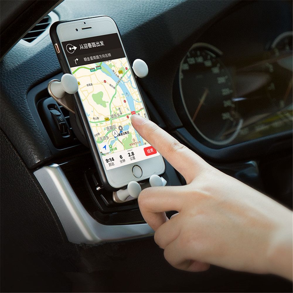 Universal Car Holder No Magnetic Air Vent Holder Stand for Smartphone / Mobile Phone / GPS