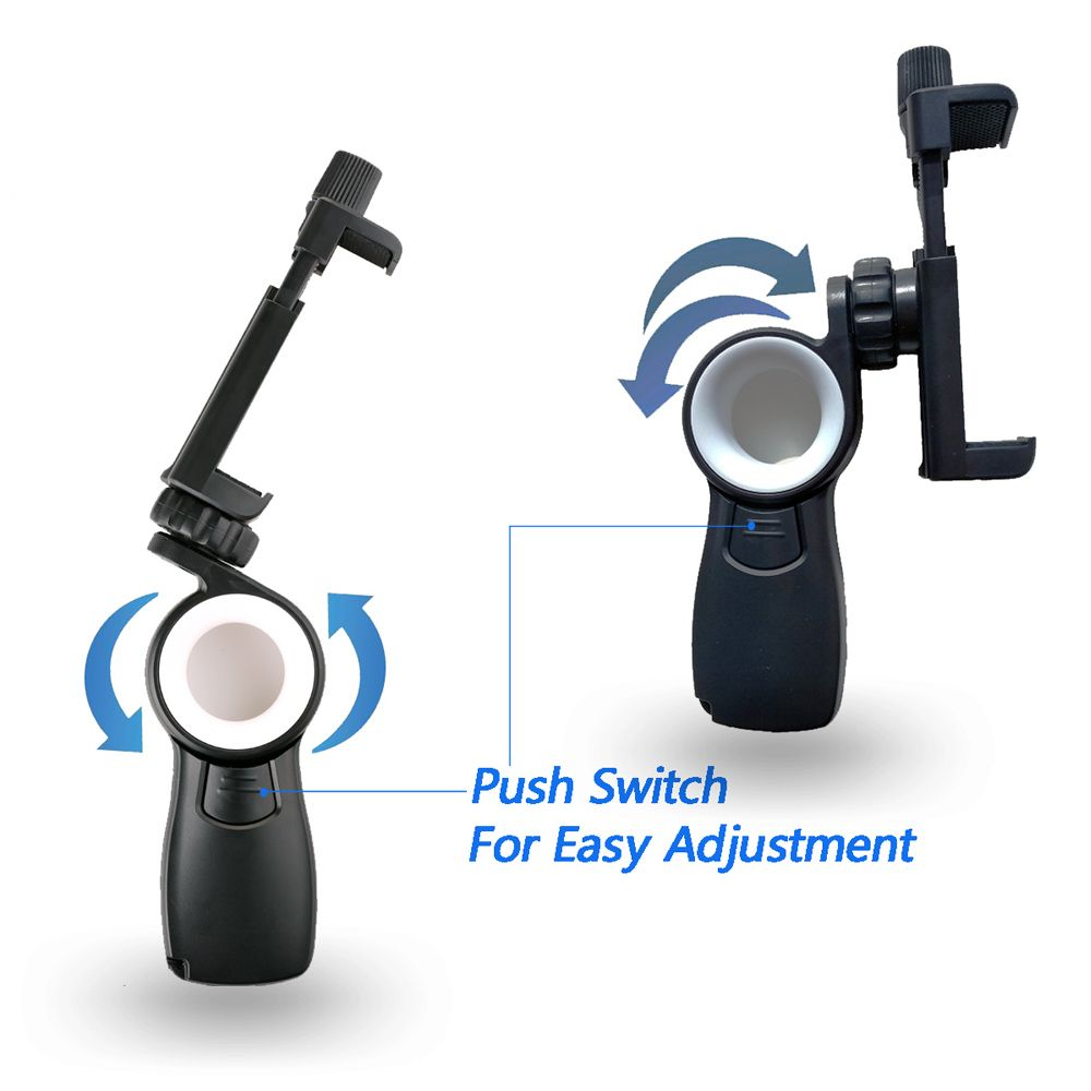 HC1+T1 Mini Tripod+ Smartphone Tripod Adapter  Desk Phone Mount Tabletop Stand For Gopro DV Cell Phone Hand Grip Holder