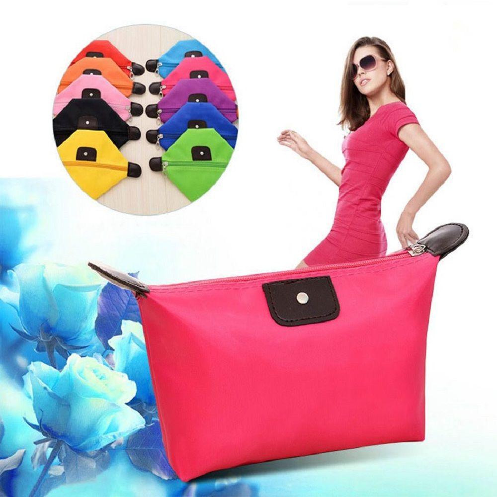 Makeup Organizer Travel Bag Women Cosmetic Bags Summer Dumpling Clutch Women Packages Waterproof Cosmetic Bag Handbag