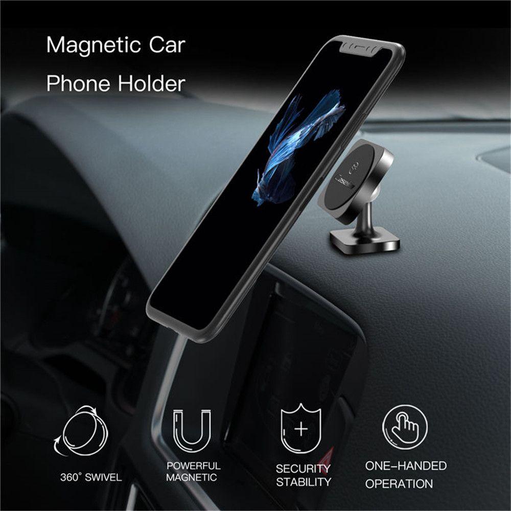 CaseMe Square Metal Material Dash Board Car Bracket Universal