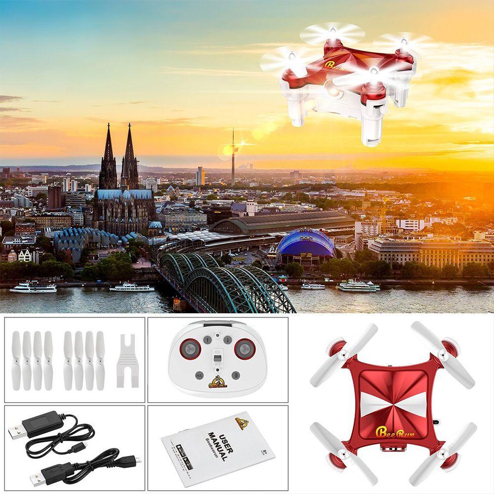 Beebeerun WiFi FPV RC Drone Mini Quadcopter