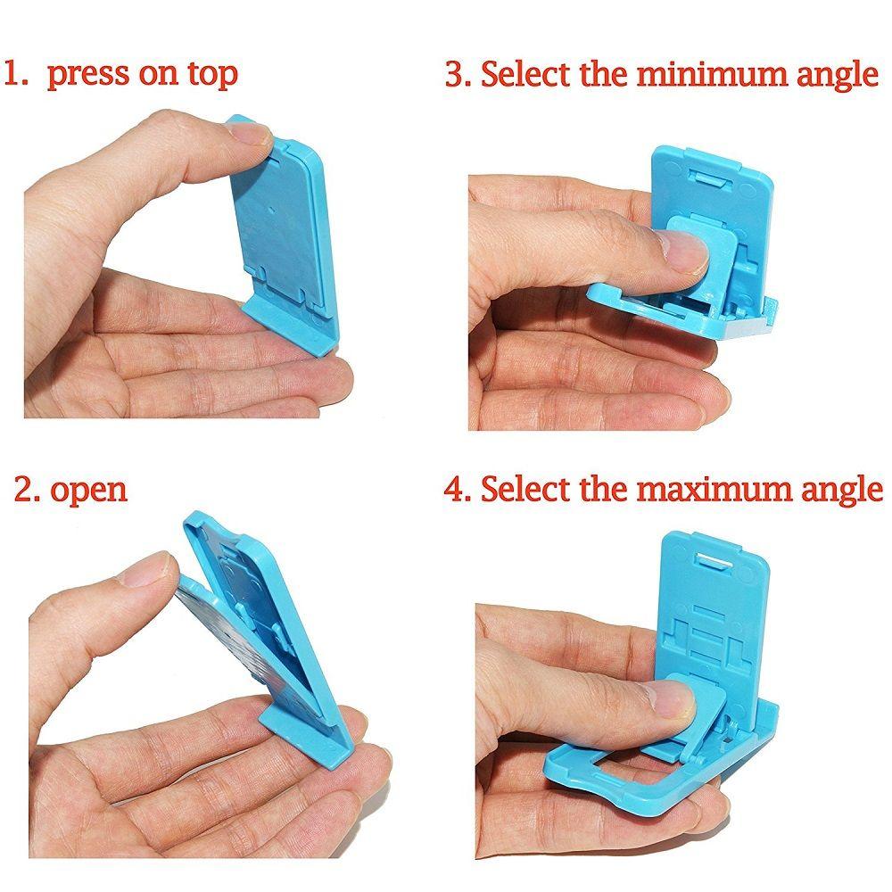 5pcs Mini Phone Holder Multi-Angle Adjustable