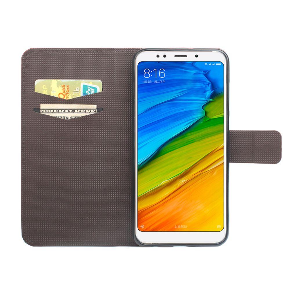 Flip Case for Xiaomi Redmi 5 Plus Phone Leather Sheath Case for Xiaomi Redmi 5PLUS Case Cover