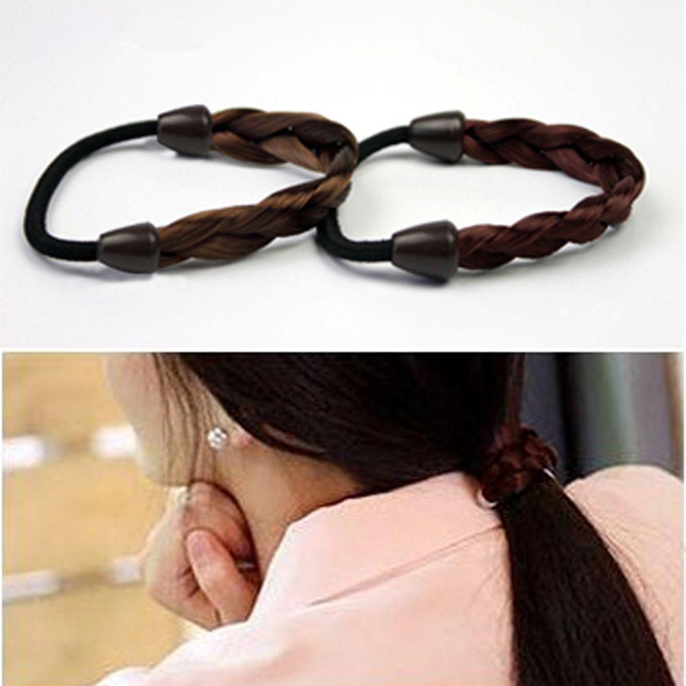Simulation Wig Twist Hair Ring Headdress