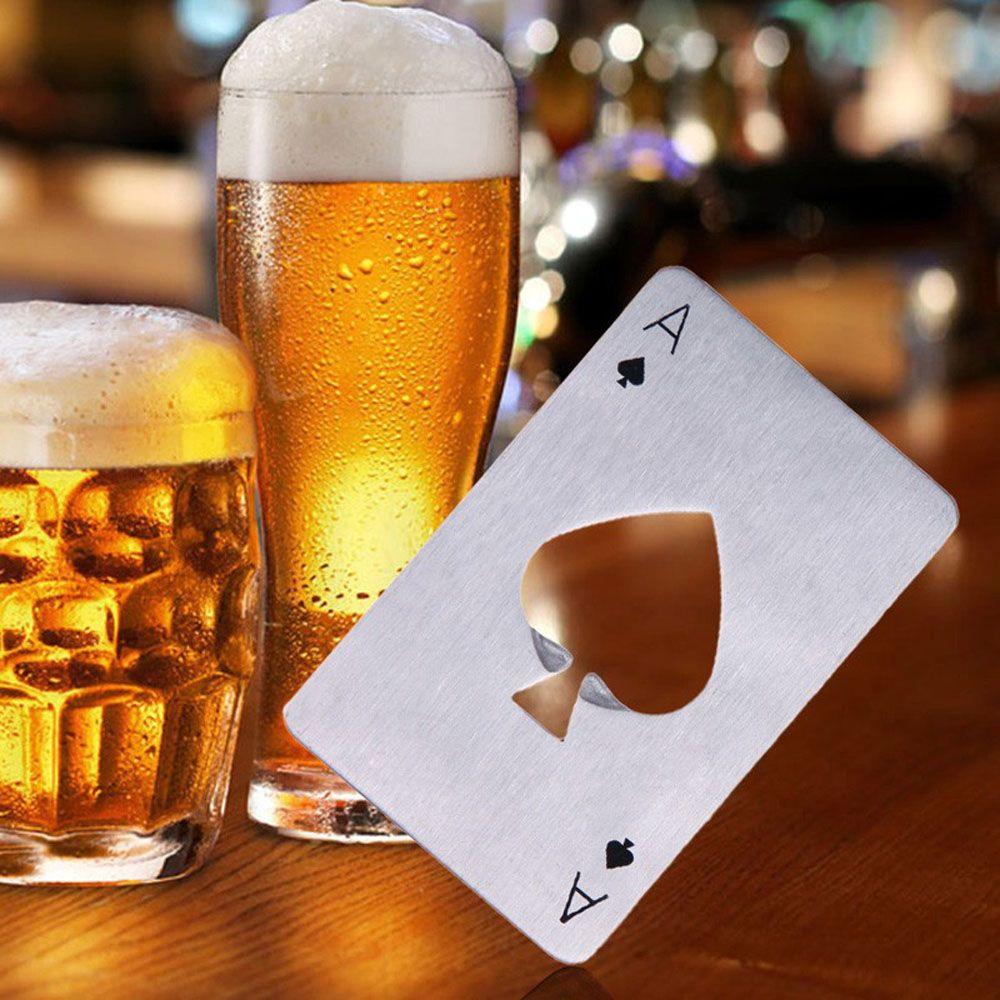 2PC Poker Shape Bottle Opener