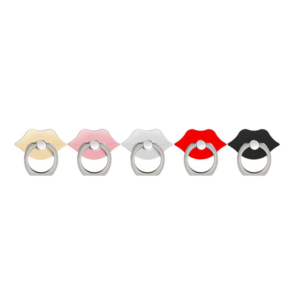 360 Degree Rotating Cute Lip Cell Phone Finger Ring Holder Stand