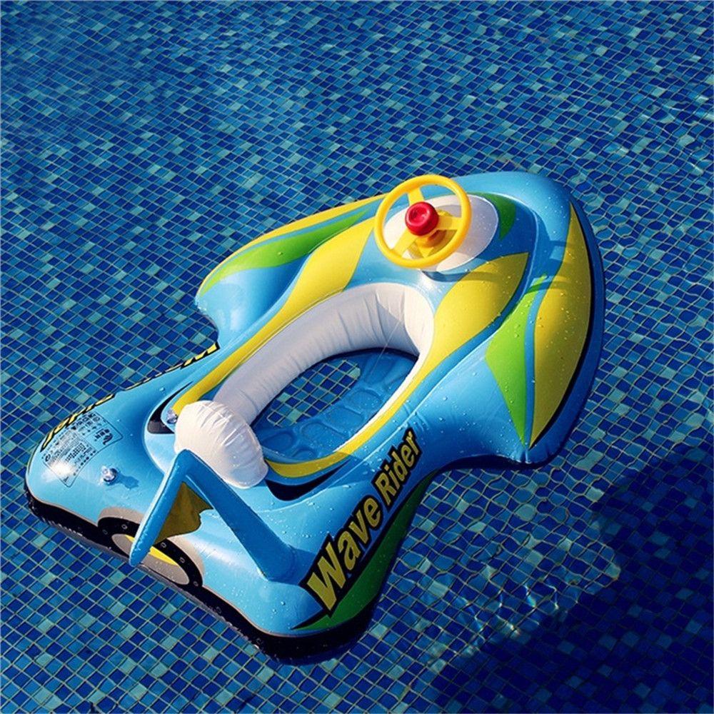 Children Inflatable Swimming Laps Sitting Circle