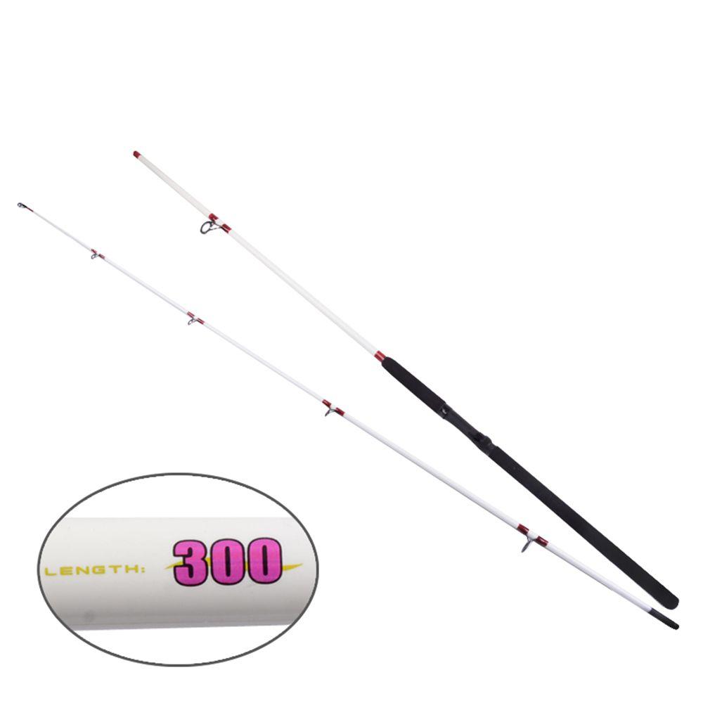 YIYA Plugable Fishing Rod Medium 2.7M / 3.0M White 2 Sections