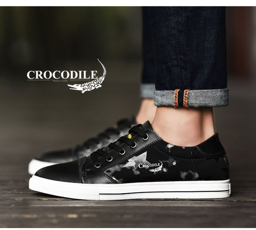 CROCODILE The New 2018 Leisure Men's Shoes WFX00372018