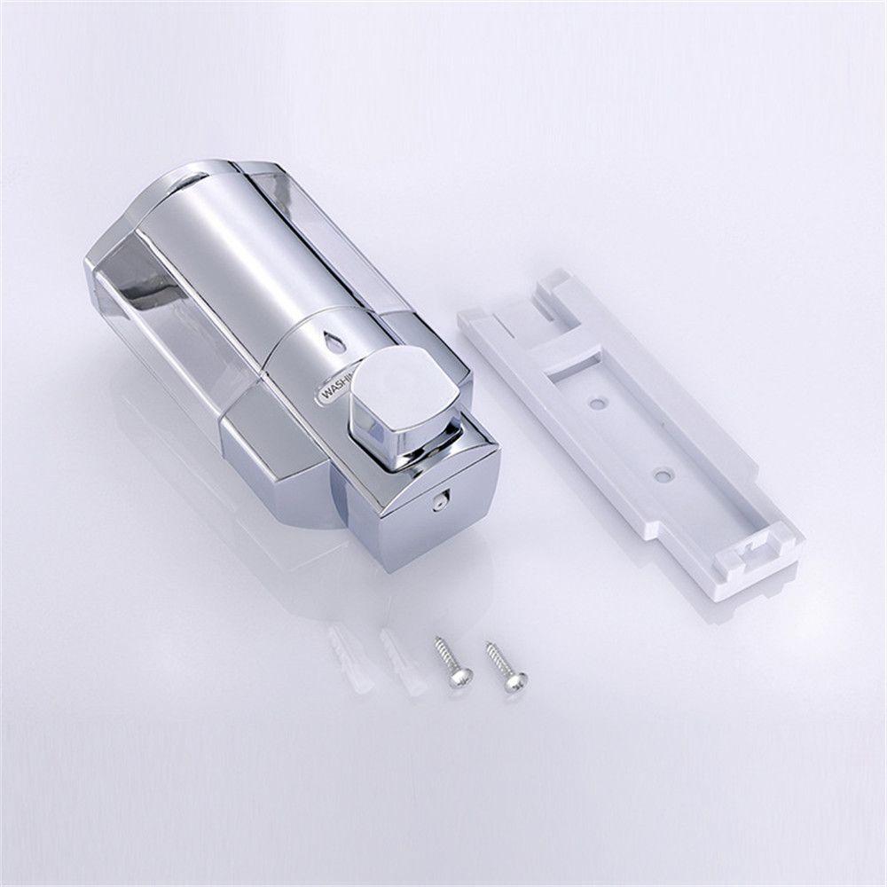 Shampoo Shower Soap Dispenser 300ML Wall-Mount Automatic Kitchen Soap Lotion Pump for Kitchen Bathroom